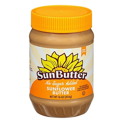 SunButter Sunflower Butter No Sugar Added - 16 Oz