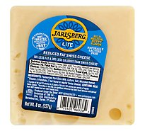 Norweigan Jarlsberg Lite Wedge Ew - 8 Oz