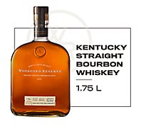 Woodford Reserve Whiskey Kentucky Straight Bourbon 90.4 Proof Tray Pack - 1.75 Liter