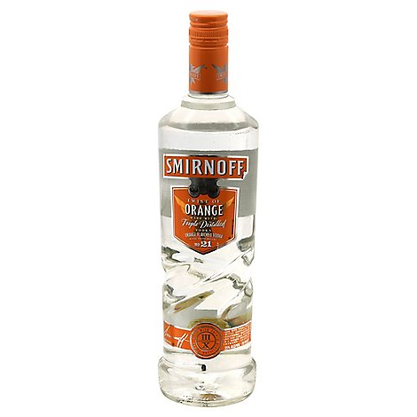 Smirnoff Vodka Orange Twist 70 Proof - 750 Ml
