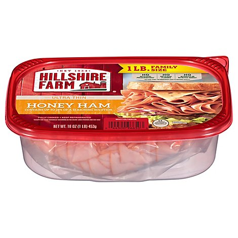 Hillshire Farm Ultra Thin Sliced Lunchmeat Honey Ham 16 Oz