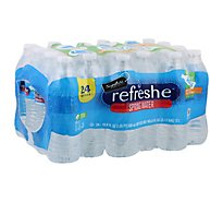 Signature SELECT/Refreshe Spring Water - 24-16.9 Fl. Oz.