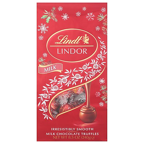 Lindt Milk Bag Holiday - 8.5 Oz