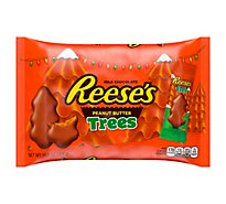 Reeses Peanut Butter Trees Milk Chocolate - 10.8 Oz