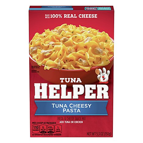 Betty Crocker Tuna Helper Tuna Cheesy Pasta - 5.3 Oz