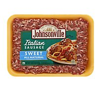 Johnsonville Sausage Ground Pork Italian Sweet - 16 Oz