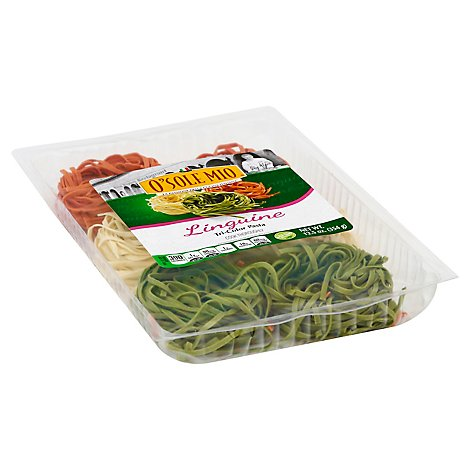 Osm Tri Color Linguine - 12.5 Oz
