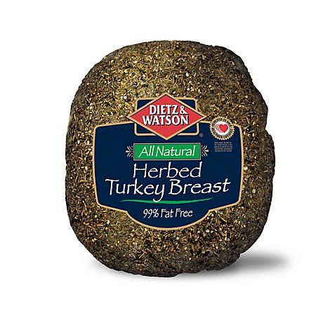 Dietz & Watson All Natural Turkey Breast Herbed - 0.50 LB