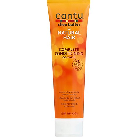 Cantu Shea Butter Co-Wash Complete Conditioning For Natural Hair - 10 Oz