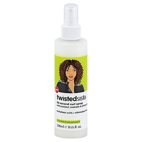 Twisted Sista Curl Spray 30 Sec - 8 Fl. Oz.