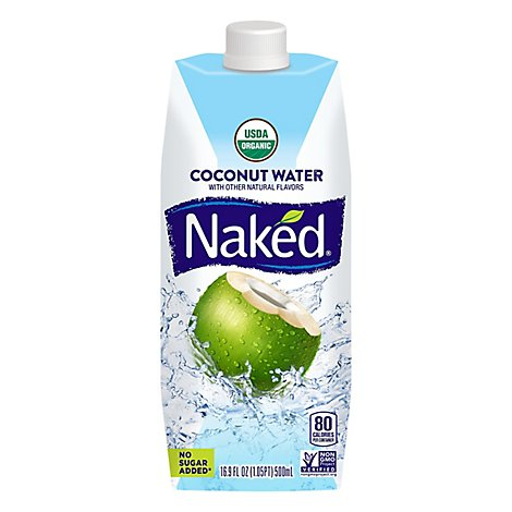 Naked Juice Coconut Water Pure - 16.9 Fl. Oz.