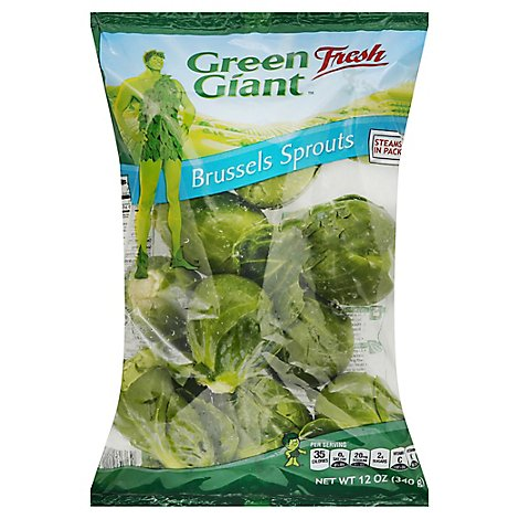 Green Giant Brussels Sprouts - 12 Oz
