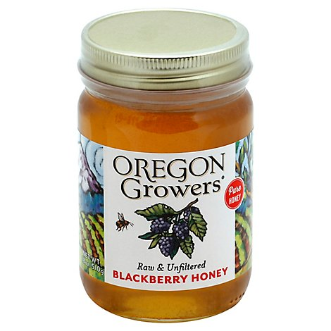 Oregon Growers Honey Blackberry - 18 Oz