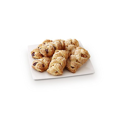 Bakery Strudel Jumbo Apple/Berry 6 Count - Each