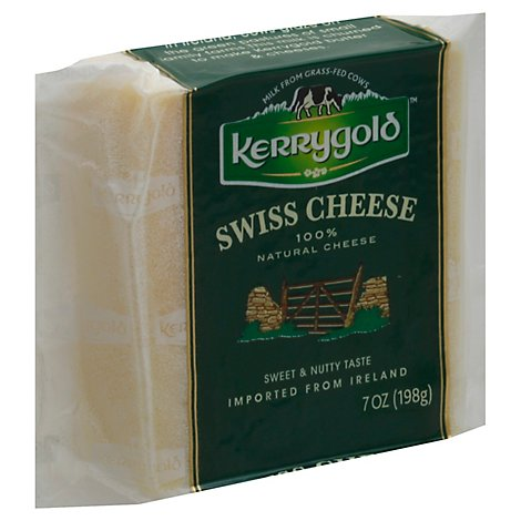 Kerrygold Natural Cheese Swiss - 7 Oz