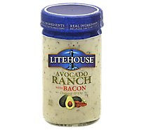 Litehouse Dressing & Dip Avocado Ranch With Bacon - 13 Fl. Oz.