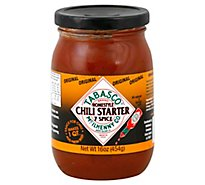Tabasco Chili Starter Homestyle 7 Spice Original Jar - 16 Oz
