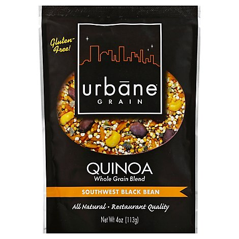 Urbane Grain Quinoa Southwest Black Bean Pouch - 4 Oz