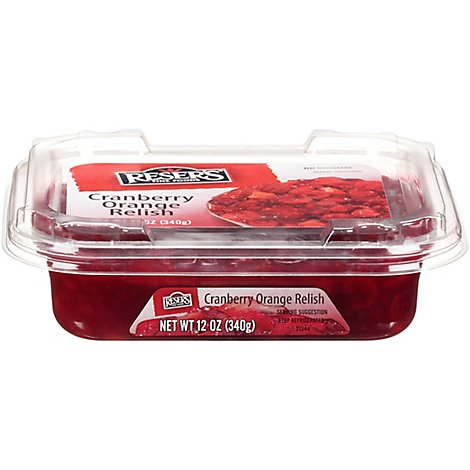 Resers Relish Cranberry Orange - 12 Oz