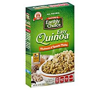 Natures Earthly Choice Easy Quinoa Mushroom & Vegetable Medley Pouch - 4.8 Oz