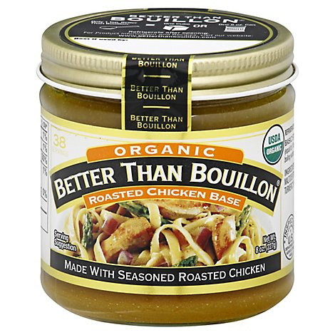 Better than Bouillon Base Organic Chicken - 8 Oz