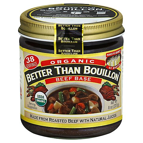 Better than Bouillon Base Organic Beef - 8 Oz