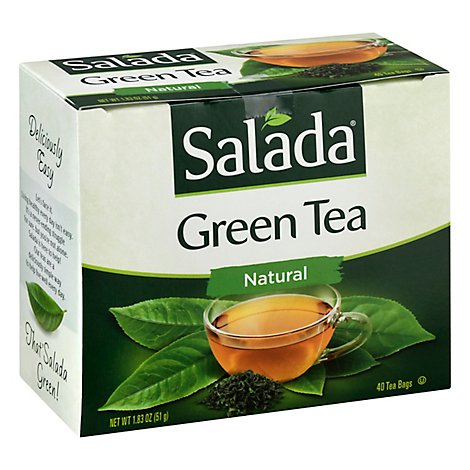 Salada Green Tea Pure - 40 Count
