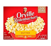 Orville Redenbachers Popping Corn Gourmet Butter - 6-3.29 Oz