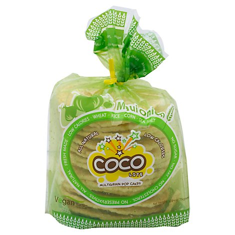 COCO LITE Pop Cakes Multigrain Maui Onion - 2.64 Oz