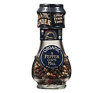 Drogheria & Alimentari Organic Peppercorn Mill 4 Seasons - 1.24 Oz
