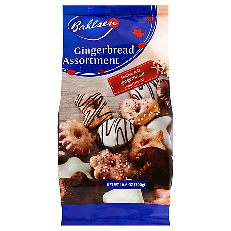 Bahlsen Cookies Holiday Gingerbread Assortment - 10.6 Oz