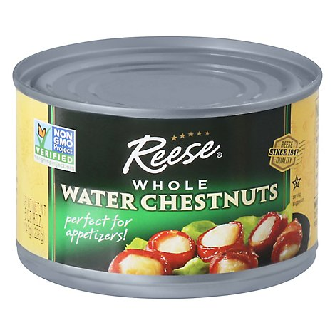 Reese Water Chestnuts Whole - 8 Oz