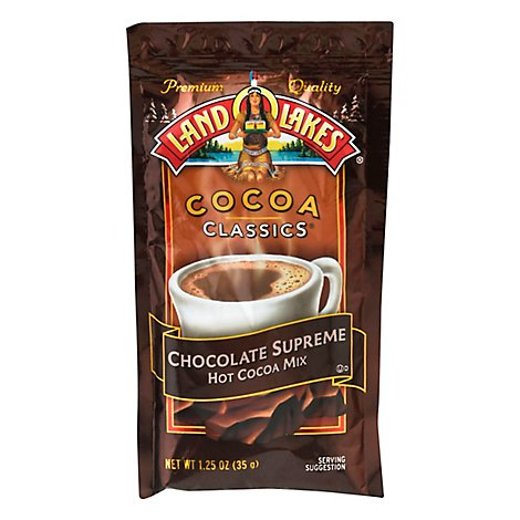 Land O Lakes Cocoa Classics Cocoa Mix Hot Chocolate Supreme - 1.25 Oz