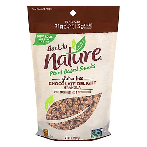 back to NATURE Granola Gluten-Free Chocolate Delight - 11 Oz