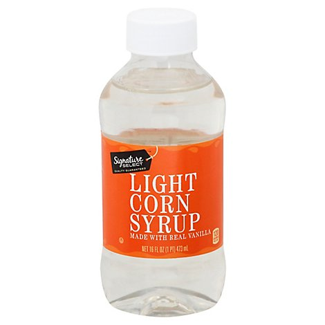 Signature SELECT Syrup Corn Light - 16 Fl. Oz.