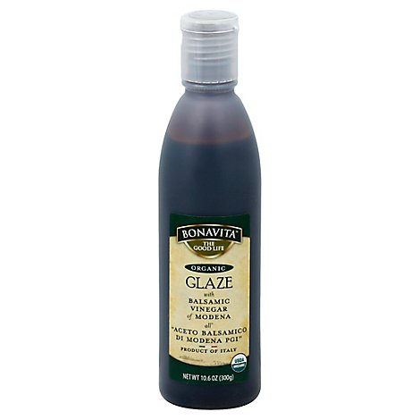 Bonavita Glaze Organic with Balsamic Vinegar of Modena - 10.6 Fl. Oz.