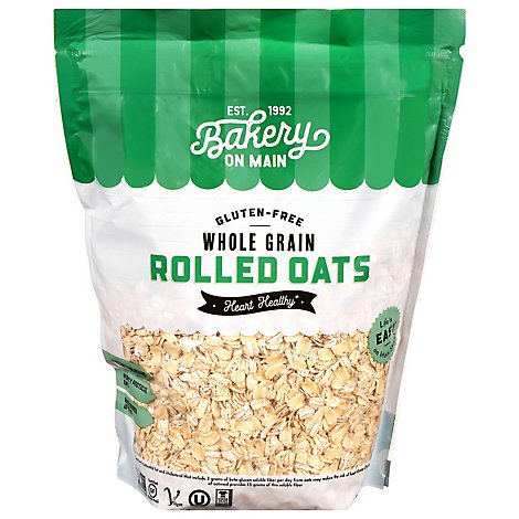 Bakery On Main Organic Happy Oats Rolled - 24 Oz