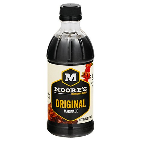 Moores Marinade Original - 16 Fl. Oz.