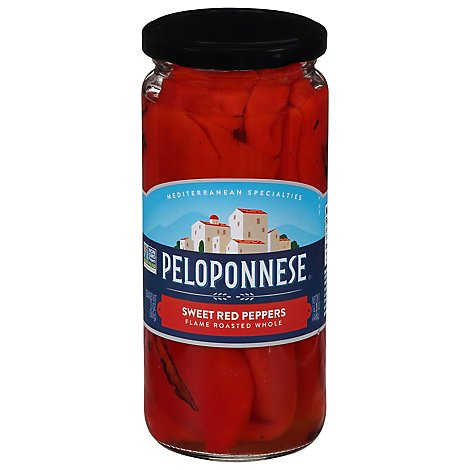 Peloponnese Peppers Whole Sweet - 16.5 Oz