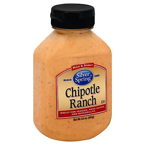 Silver Spring Sauce Rich & Smoky Chipotle Ranch - 8.5 Oz