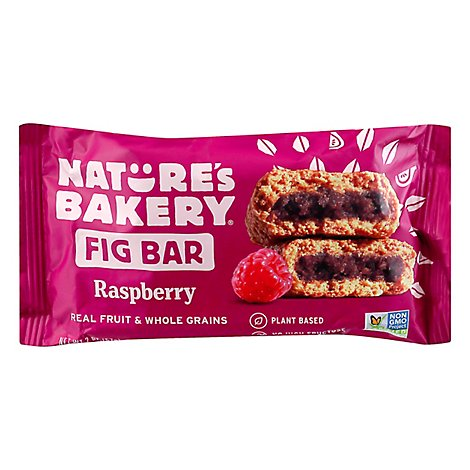 Bar Fig Whole Wheat Raspberry - 2 Oz