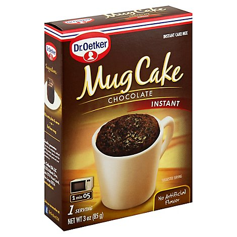 Dr. Oetker Mug Cake Instant Cake Mix Chocolate - 3 Oz