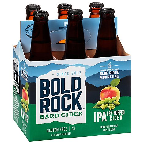 Bold Rock Ipa 4/6 Lnnr In Bottles - 6-12 Fl. Oz.
