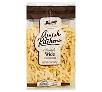 Amish Kitchens Egg Noodles Homestyle Wide Bag - 12 Oz