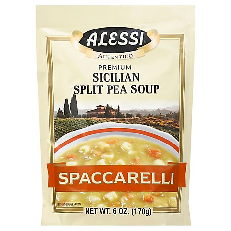 ALESSI Soup Split Pea Sicilian Spaccarelli - 6 Oz