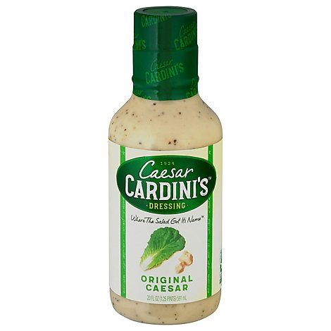 Cardinis Dressing Gourmet The Original Caesar Large Size - 20 Fl. Oz.
