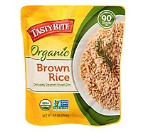 Tasty Bite Rice Organic Brown Bag - 8.8 Oz