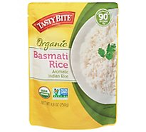 Tasty Bite Rice Organic Basmatic Bag - 8.8 Oz