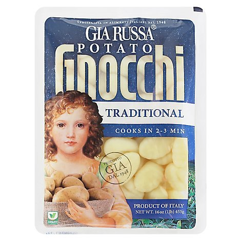 Gia Russa Gnocchi with Potato - 16 Oz