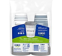 Dixie Paper Cups & Lids Insulated Variety Pack 12 Ounce - 14 Count